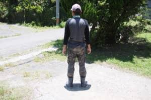 農作業時の服装・格好 後ろ
