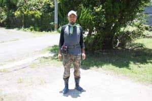 農作業時の服装・格好 正面