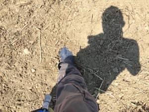 足が沈み込むほど柔らかい土壌