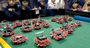 ロボットの集合写真