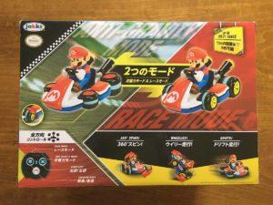 箱の裏面。RC マリオカート マリオ(Jakks PACIFIC)