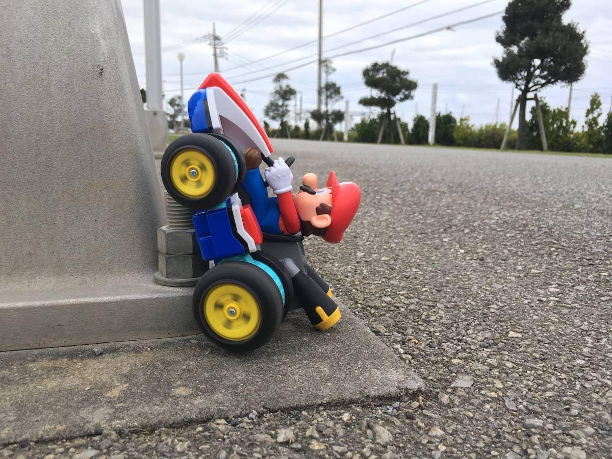 マリオカートが走行不能!RC マリオカート マリオ(Jakks PACIFIC)